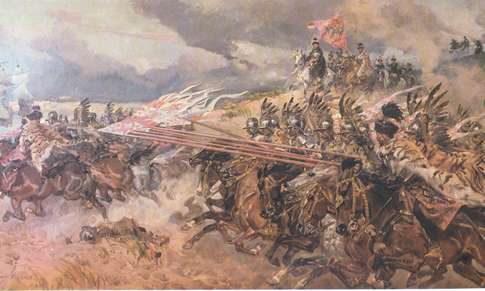The Battle of Kircholm - by W Kossak