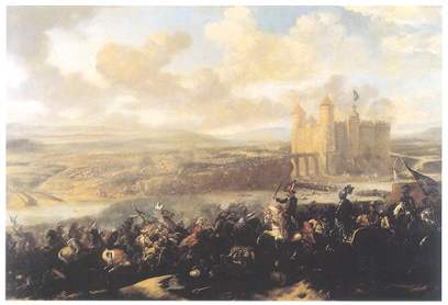 Storming of Chocim 1673 - painter unknown