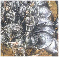 Polish heavy cavalry at the battle of Orsza