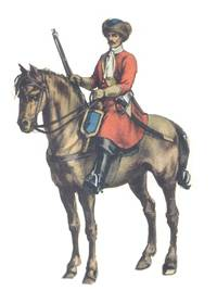 Polish dragoon second half of 17th century