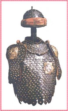 scale armour believed to be  Anatazy Miaczynski's  a participant at Vienna